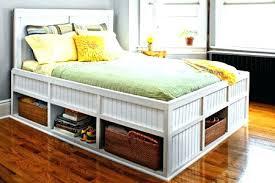 raised queen bed frame medium size of bed frames res platform bed