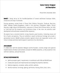 layout artist job specification the best 100 excellent interior designer job description sle