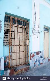 Front Door Security Gate by A Metal Security Gate In Front Of An Apartment In Havana Cuba