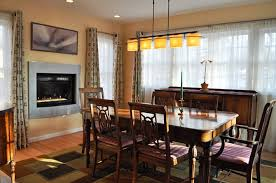 Dining Room Suits Fireplace As Focal Point