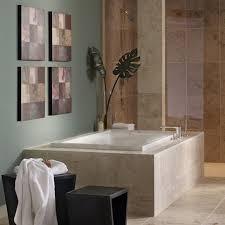 Home Depot Drop In Tub by Evolution 60x36 Inch Deep Soak Bathtub American Standard