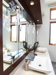 contemporary luxe bathroom christopher grubb hgtv