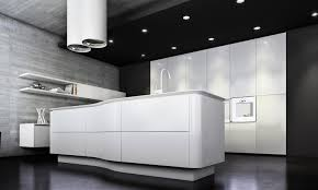 fresh kitchen design white and grey wood idolza