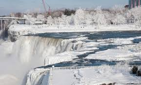 photos niagara falls frozen