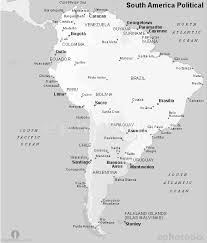 map of and south america black and white south america political map black and white black and white