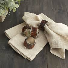 how to set a table with napkin rings pineapple napkin rings set wayfair