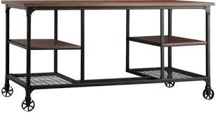Modern Industrial Desk Inspire Q Nelson Industrial Modern Rustic Storage Desk What U0027s It