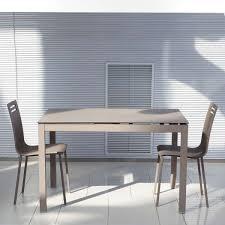 table cuisine 4 pieds table de cuisine petit espace en céramique avec allonge céleste