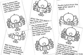 turkey facts for mini folding coloring book printable simple