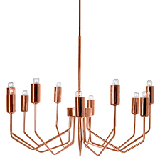 Copper Chandeliers Olbia Copper Chandelier Interior Design Pinterest