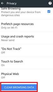 how to clear search history on android how to clear search history chrome android