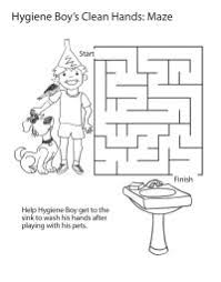 Hand Washing Coloring Sheet - personal hygiene coloring pages 120 pages koulu pinterest