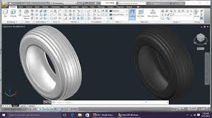 home design by engineer autocad 3d modeling 5 tire by engineer autocad tutorials youtube