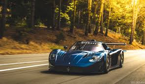 maserati mc12 blue jan 18 2015 u2013 blue maserati mc12 corse front side view in motion