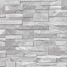 ideco home stone grey wallpaper a17202