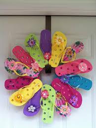 flip flop wreath flip flop wreath do it and how