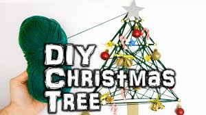 how to make a diy christmas tree youtube