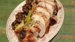 rye stuffed roasted turkey breast recipe the chew abc