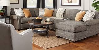 Coffee Table For Sectional Sofa Living Room Gray Sectional Sofa Accent Cushion Wooden Floor