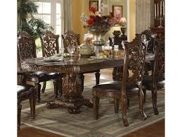 traditional formal dining room sets acme furniture vendome traditional formal dining table household