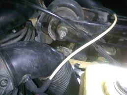 1998 volvo v70xc vacuum hose on air aintake tube in back of mass