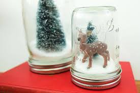 How To Make Christmas Gifts Handmade Ideas Diy Snow Globe Tutorial