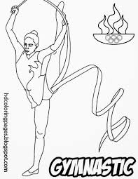 100 gymnastics color pages cheerleading coloring pages tom
