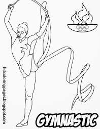 printable gymnastics coloring pages gymnastics free coloring pages on art coloring pages