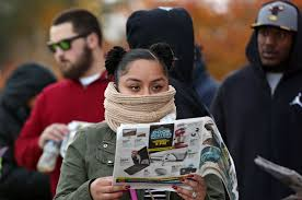 thanksgiving day shopping daily press