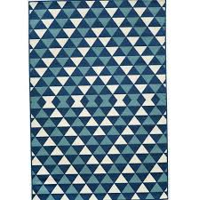 Geometric Outdoor Rug Blue Geometric Outdoor Rug Home Design Ideas