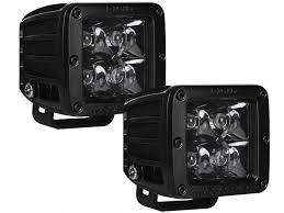 rigid industries led driving lights rigid industries dually midnight led lights realtruck com
