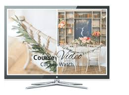 diploma in wedding planning styling and design study online