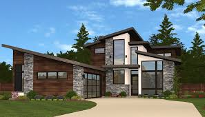 plan 85135ms slimmed down exclusive 3 bed modern house plan