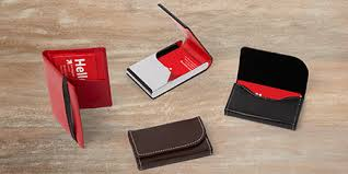 leather business card holders leather card vistaprint