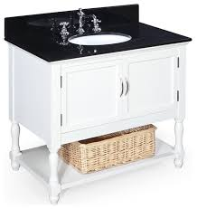 48 Bathroom Vanity With Granite Top 36 White Bathroom Vanity With Black Top Home Design Mannahatta Us