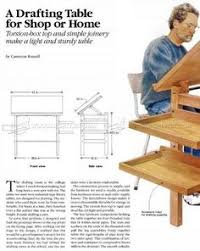 Plans For Drafting Table Drafting Tables Free Drafting Table Plans Woodworking Project