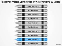 process combination of acheivements 10 stages ppt business plan