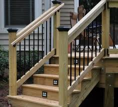 outdoor step railing ideas how to select the best outdoor stair