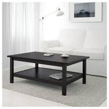 black brown coffee table hemnes coffee table black brown 118x75 cm ikea