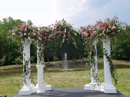 rent wedding arch columns 1 4 circle w arch rentals mentor oh where to rent columns