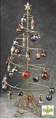 ornament trees spiral wire ornament tree 6 foot ornament