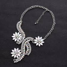 big rhinestone necklace images Big maxi statement necklace for women 2017 rhinestone necklace jpg