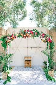 tropical wedding theme tropical wedding floral wedding arch and floral