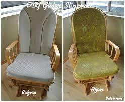 Rocking Chair Gliders Chair Furniture Stirring Glider Rocking Chair Cushions Image