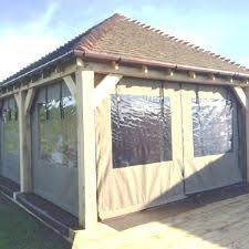 Outdoor Gazebo With Curtains Gazebo Side Panels Gazebo Curtains Protective Textile Co Ltd