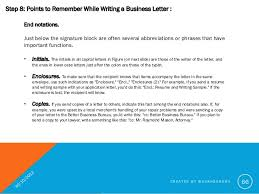 Business Letter Format Cc Before Enclosure How To Write A Good Business Letter