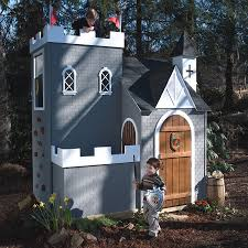 Backyard Playhouse Ideas Furniture Amazing Outdoor Playhouse Design With Boat Shaped