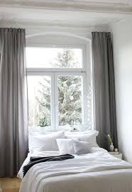 schlafzimmer verdunkeln vorhange verdunklung ein blick ins neue schlafzimmer vorhange grau