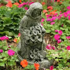 st fiacre in the garden statue hayneedle