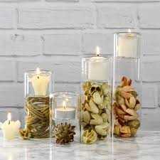 Mason Jar Tea Light Holder Glass Vase Wholesale Reversible Cylinder Piper Tealight Candle